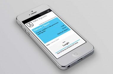 schermata del sito mobile