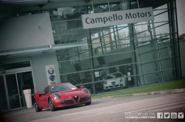 Alfa Romeo 4 C sede Campello Motors Mestre
