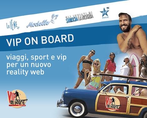 Vip On Board, il reality della Iena Gip