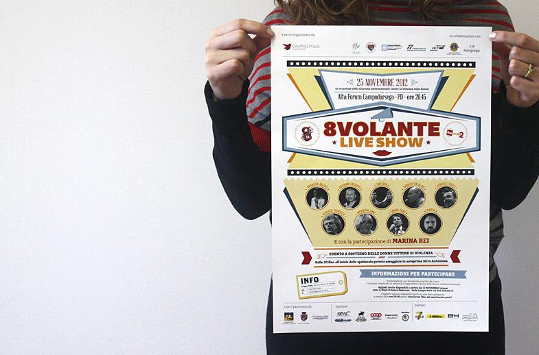 8 Volante Live Show: con Radio 2 per le donne vittime di violenza