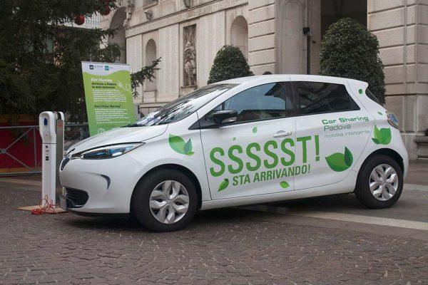 SSSSST! Sta arrivando la prima auto elettrica del Car Sharing di Padova