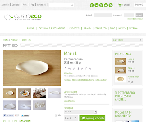 E-commerce GustoEco