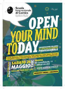 Open day Scuola Comics