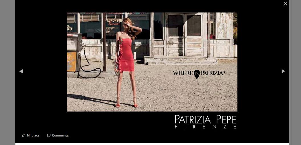 Patrizia Pepe modella