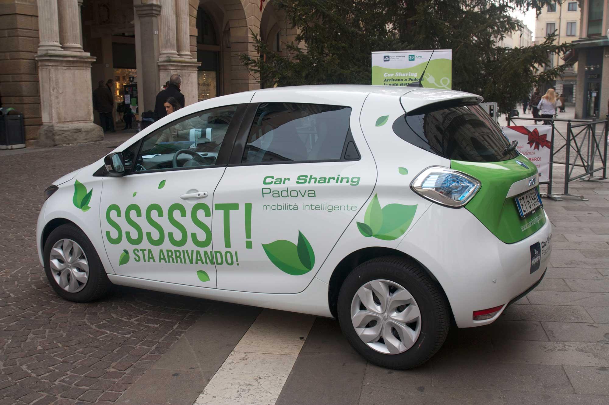 Car Sharing elettrico Sinfonia Lab 2013