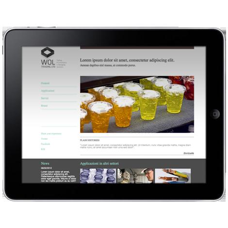 Wol Trading Ltd anteprima: applicazione del design responsivo