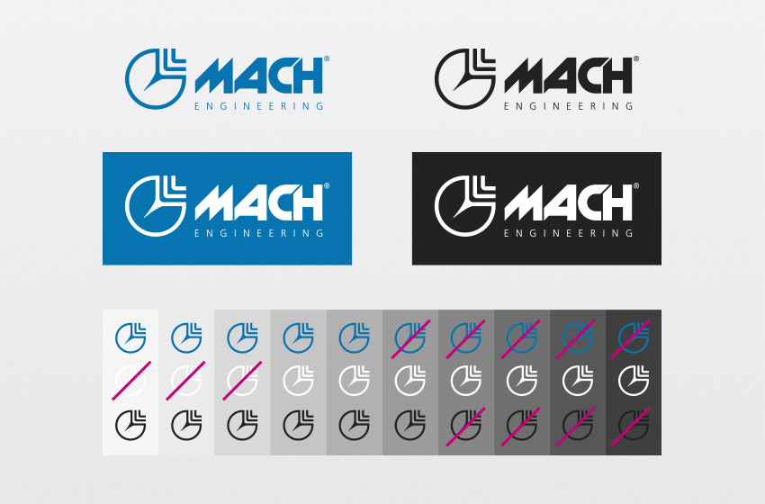 Logo mach brand manual