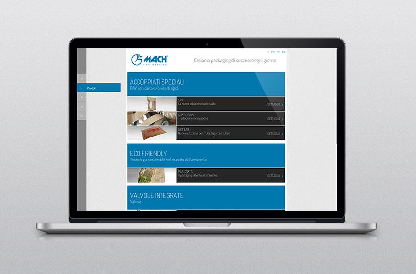 mach catalogo prodotti web