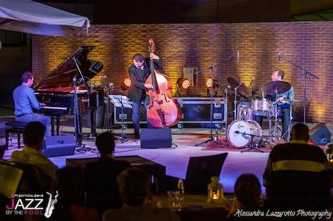 Emmet Cohen alle Terme Preistoriche per Jazz by the Pool 2013