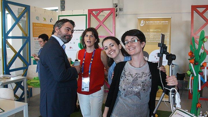 Sinfonia Lab a Expo con il progetto di Agricoltura Sociale per la Regione Lombardia