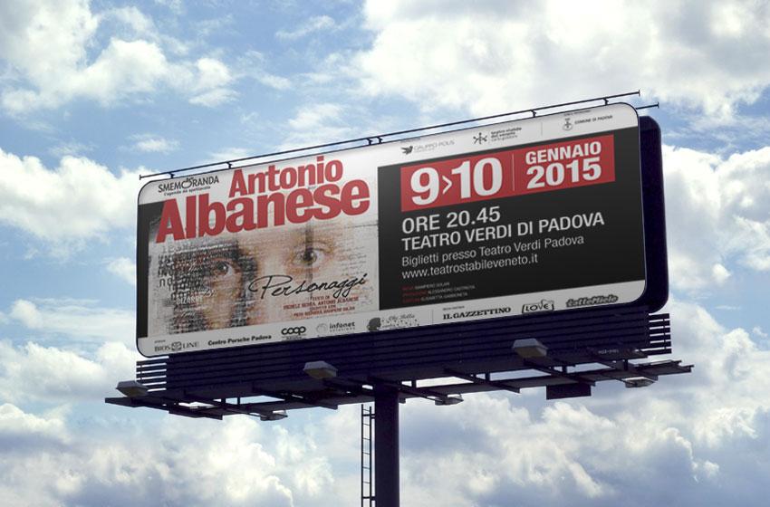 Antonio Albanese Affissioni