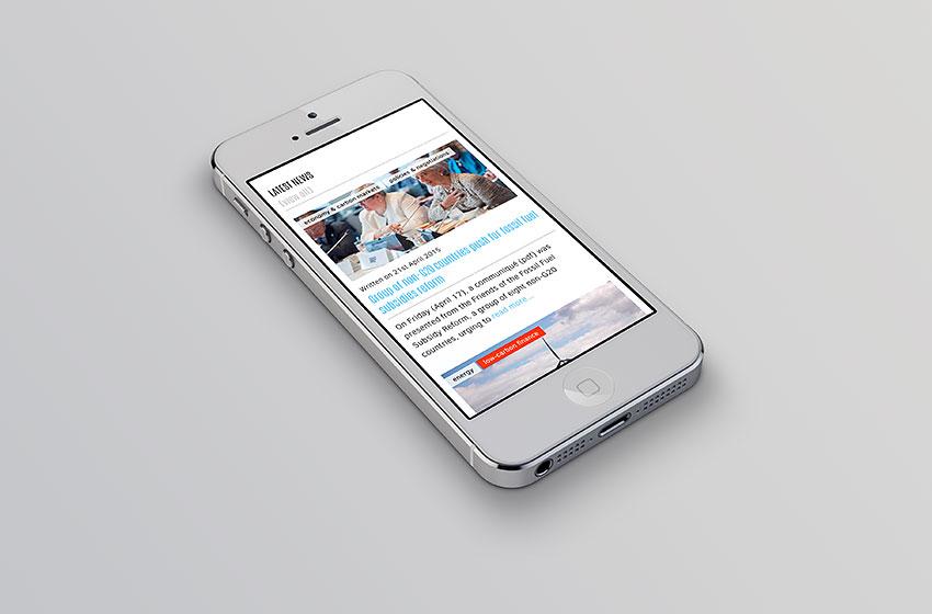 CPO visualizzazione smartphone