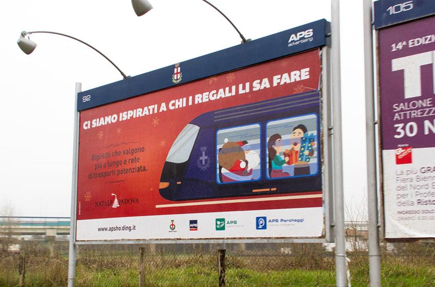 Affissioni Trasporto Pubblico Padova