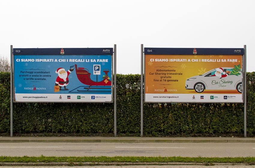 Campagna di affissioni natalizia APS