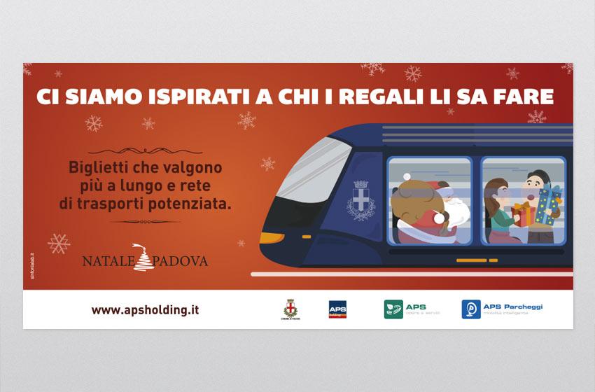 Layout grafico campagna Trasporto Pubblico