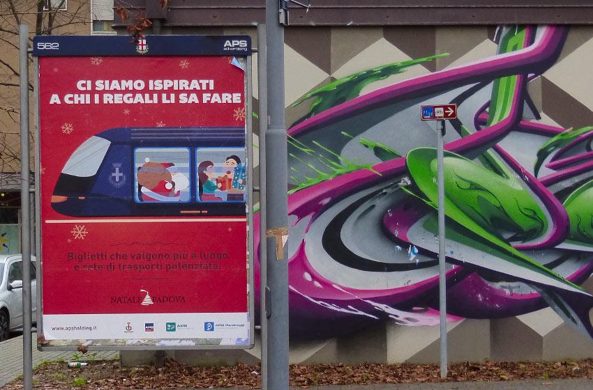campagna pubblicitaria trasporto pubblico padova