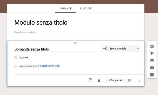 esempio googleform
