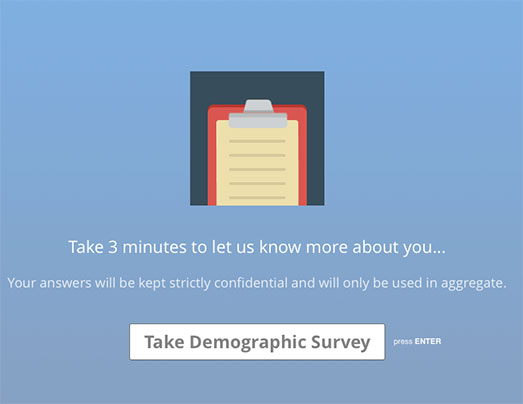 anteprima questionario demografico