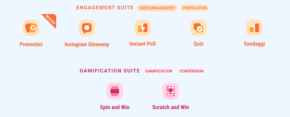Suite Engagement e Gamification di Leevia