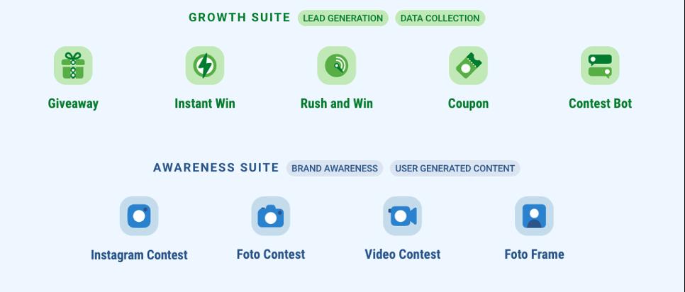 Suite Growth e Awareness di Leevia