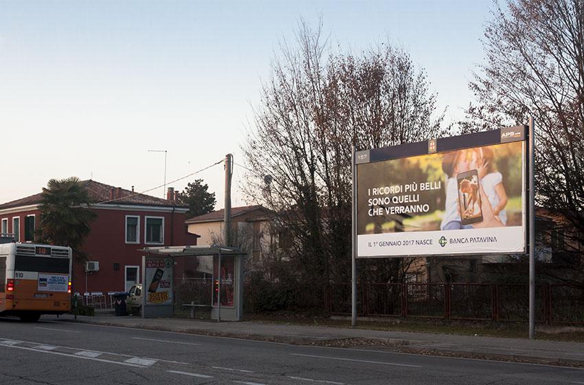 Affissione Banca Patavina