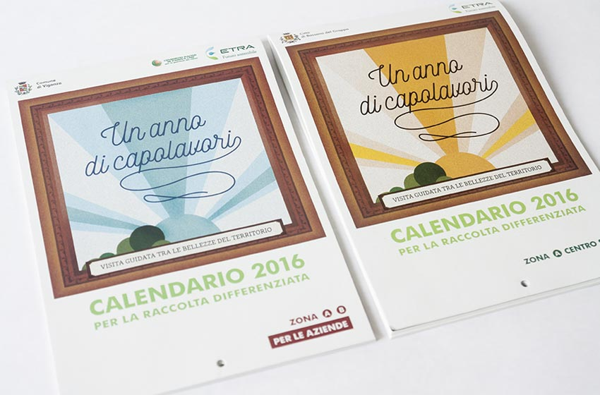 Etra Calendario raccolta differenziata