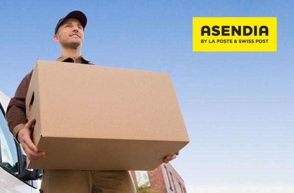 Asendia brand identity