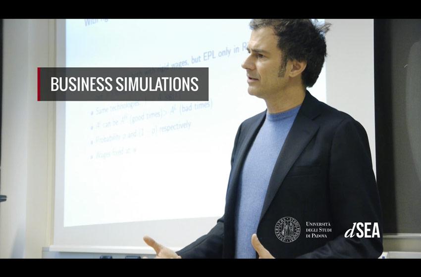 video dipartimento economia Unipd