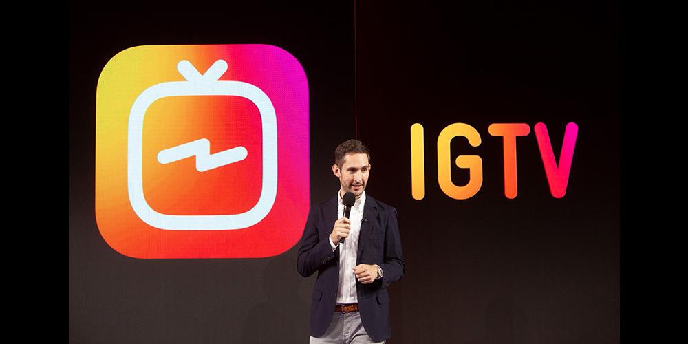 presentazione IGTV