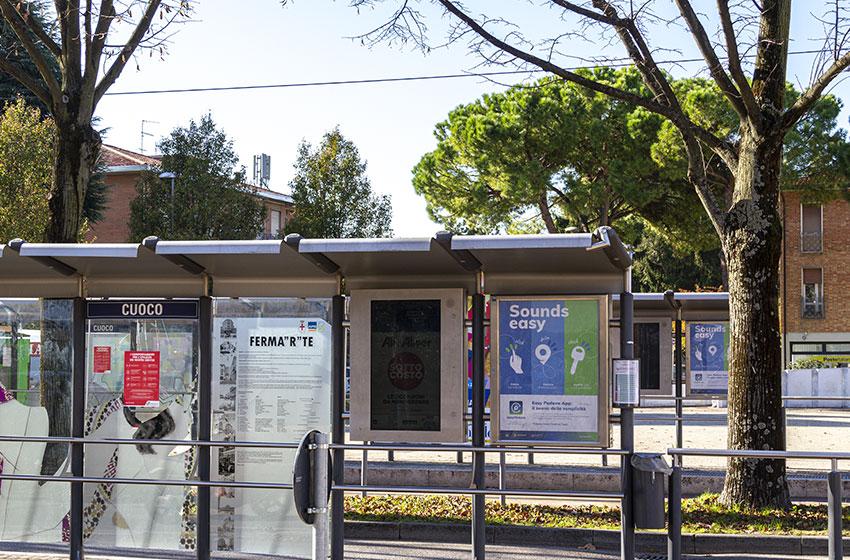 Adv pensilina tram campagna EasyPadova