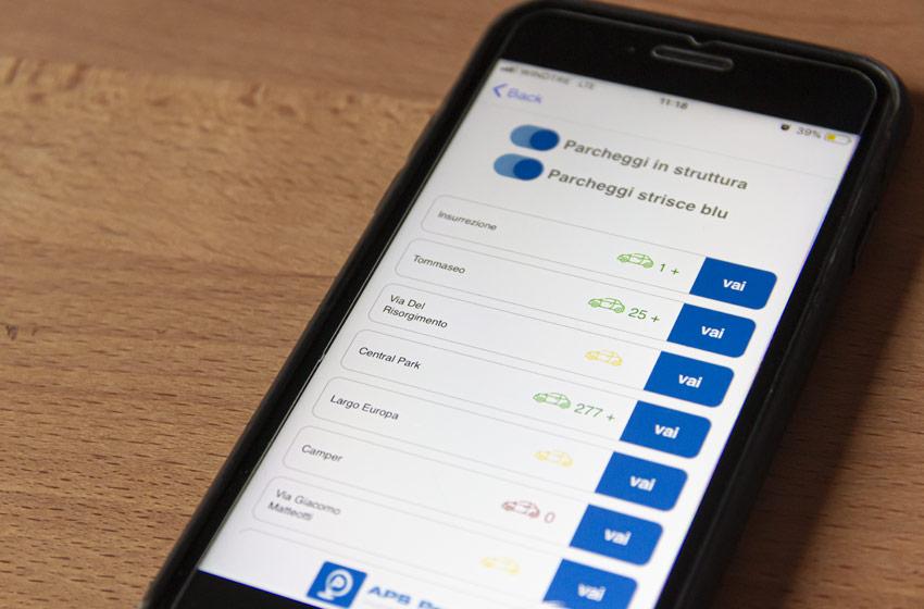 APS Trova Parcheggio EasyPadova App